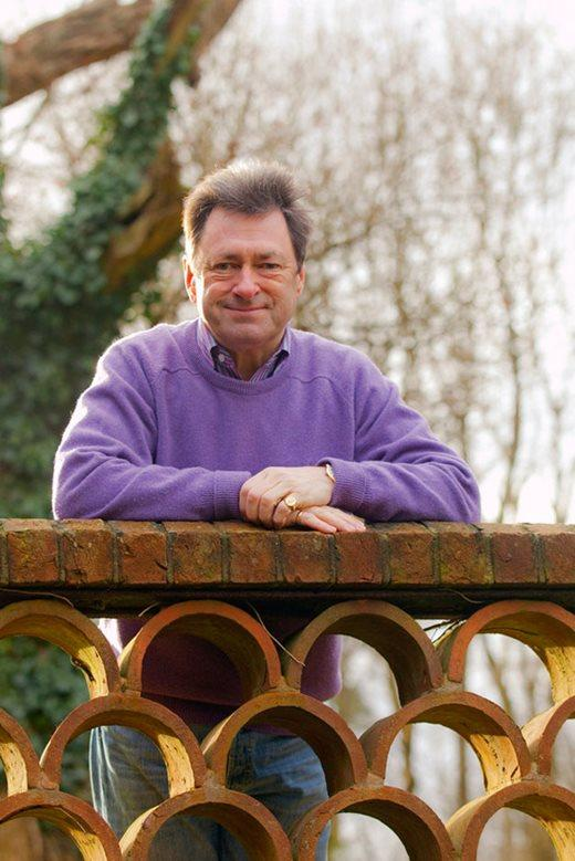 Alan Titchmarsh at the Malvern Spring Garden Show