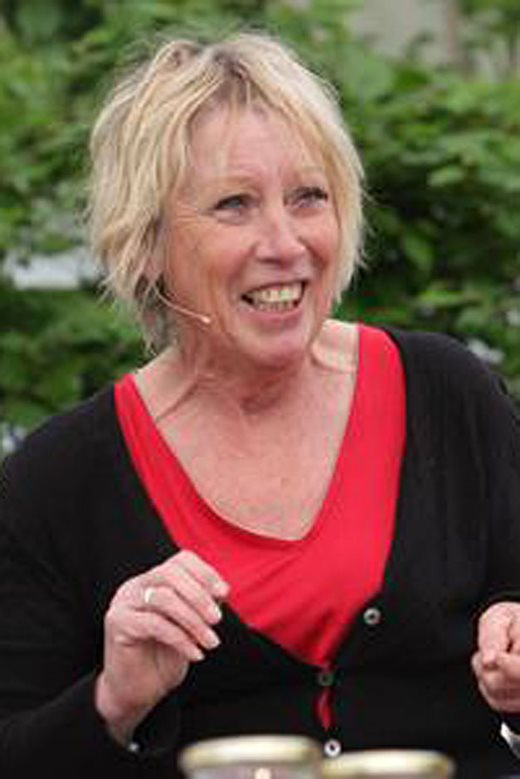 Carol Klein at the Malvern Spring Show